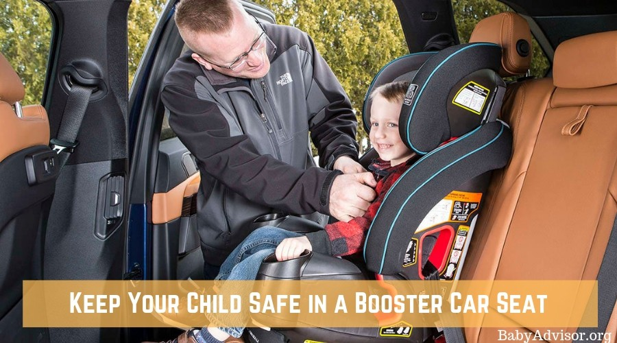 Keep Your Child Safe in a Booster Car Seat