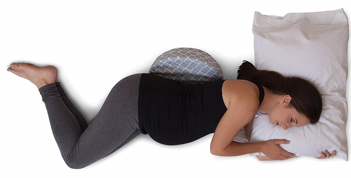 Boppy Petite Trellis Grey Pregnancy Pillow