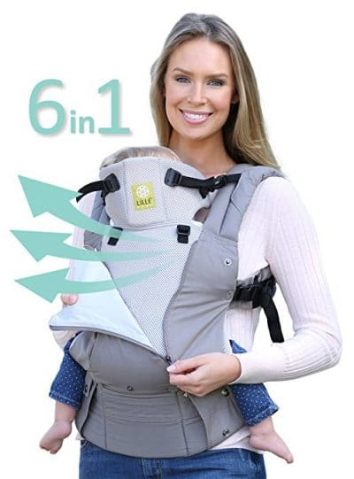 LILLEbaby Complete All Seasons Baby Carrier SIX-Position, 360° Ergonomic Baby & Child Carrier by LILLEbaby – The COMPLETE All Seasons Stone