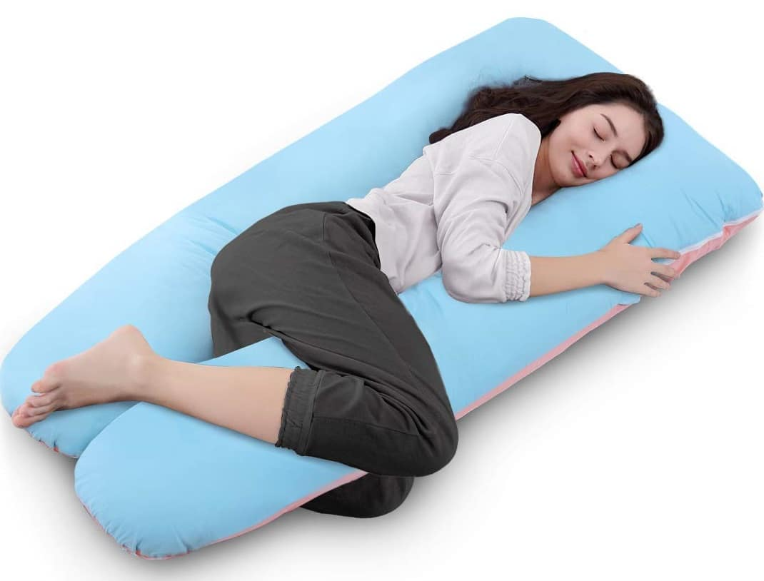 Queen Rose U-shaped Total Body Pillow