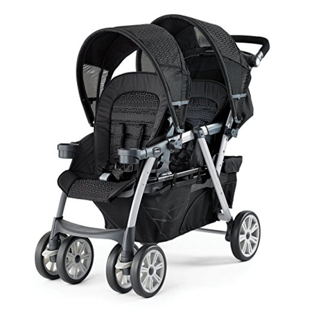 Chicco Cortina Together Double Stroller – Best Double Stroller for Infant and Toddler