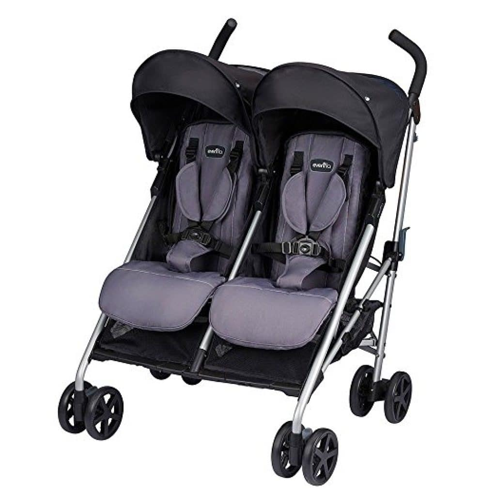 Evenflo Minno Twin Double Stroller – Best Double Stroller for Twins