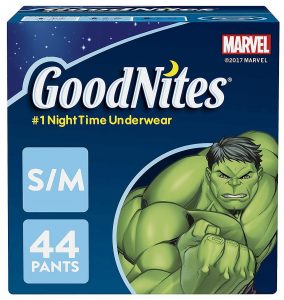 GoodNites Bedtime Bedwetting Boys Underwear