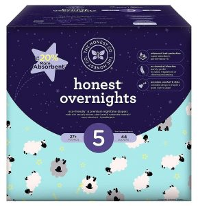 Honest Overnight Sleepy Sheep Baby Diapers
