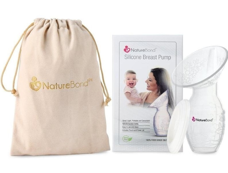 NatureBond Silicone Manual Breast Pump