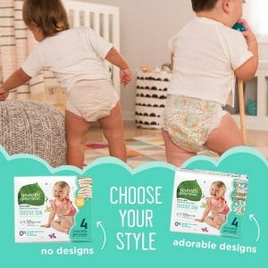 Seventh Generation Ultra absorbent Diapers