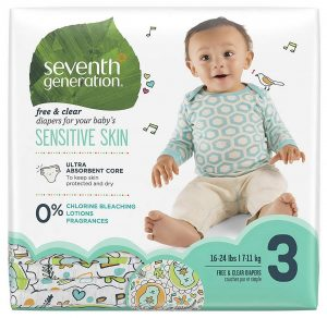 Seventh Generation ultra absorbent Baby Diapers