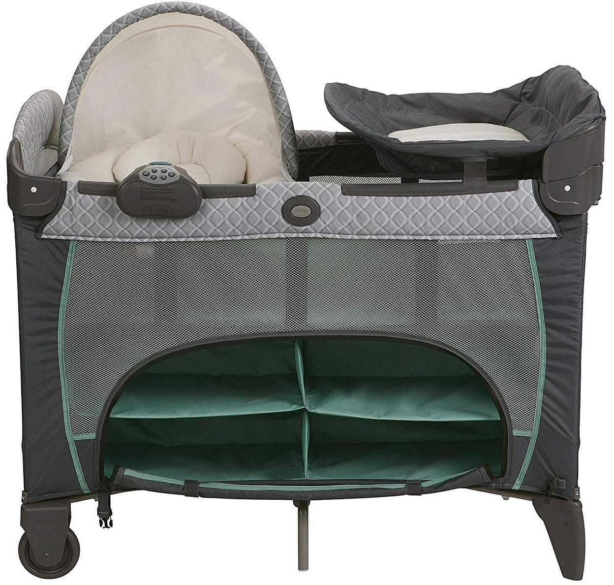 Graco Playard with Newborn Napperstation