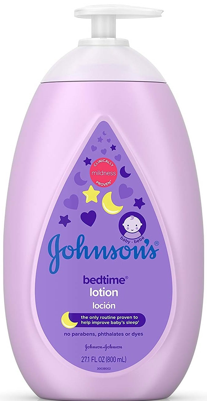 Johnson's Moisturizing Bedtime Baby Lotion