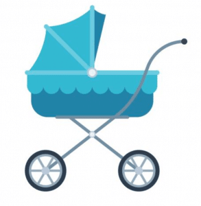 Lightweight Stroller vector