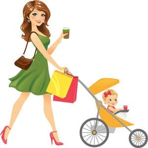lightweight stroller for shopping