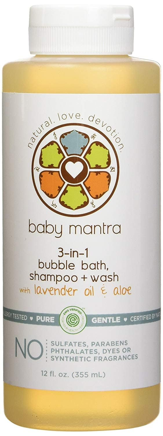 Baby Mantra 3-in-1 Bubble Bath