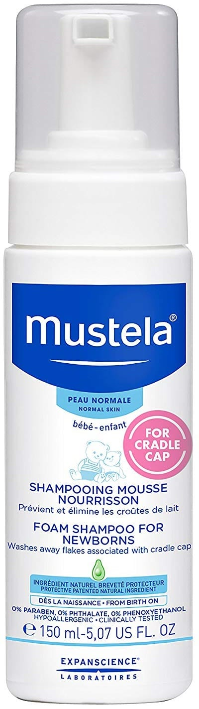 Mustela Foam Cradle Cap Treatment Baby Shampoo