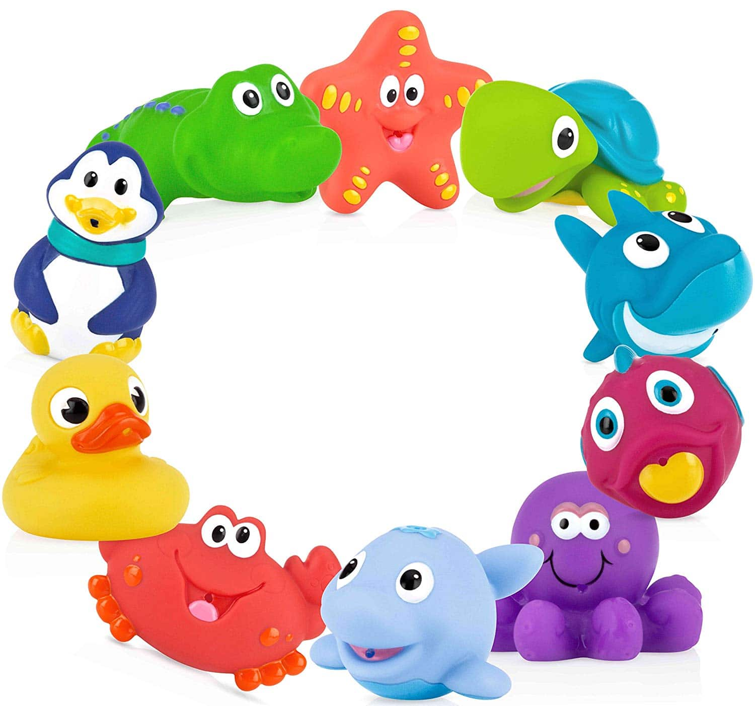 Nuby Little Fun Squirts Bath Toys