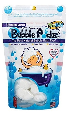 TruKid Bubble Podz Natural Bubble Bath