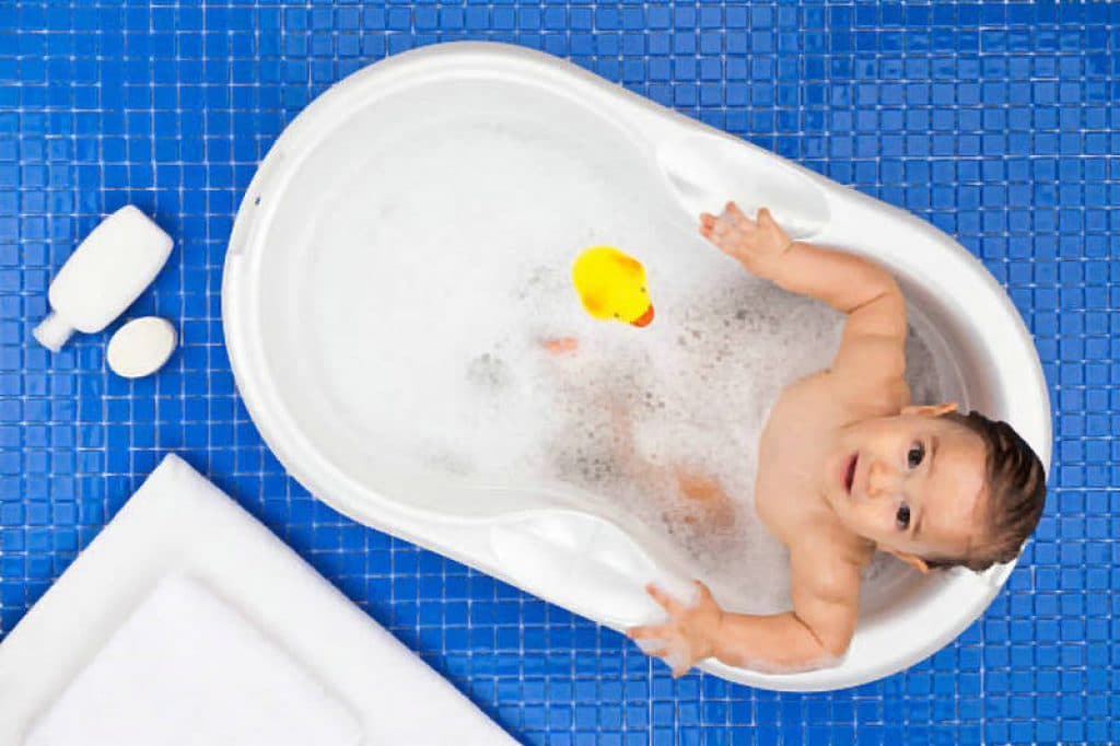 safe bubble bath for babies