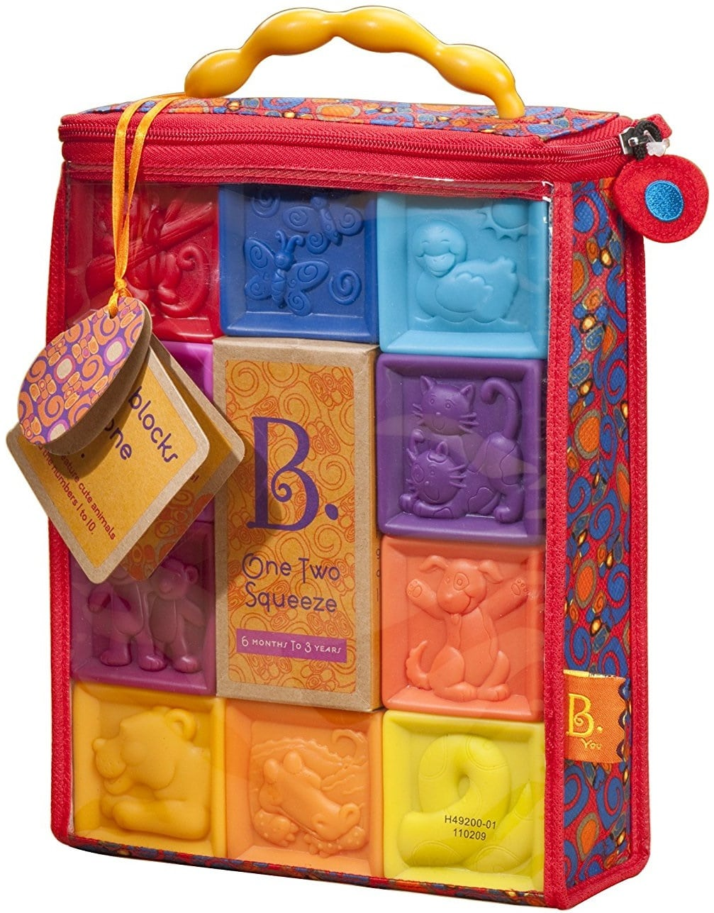 B. toys by Battat Baby Blocks