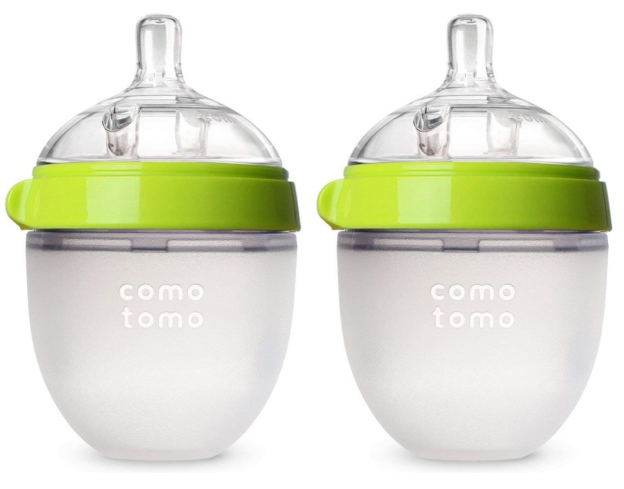 Comotomo Green Baby Bottle