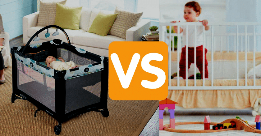 Crib VS Pack and Play