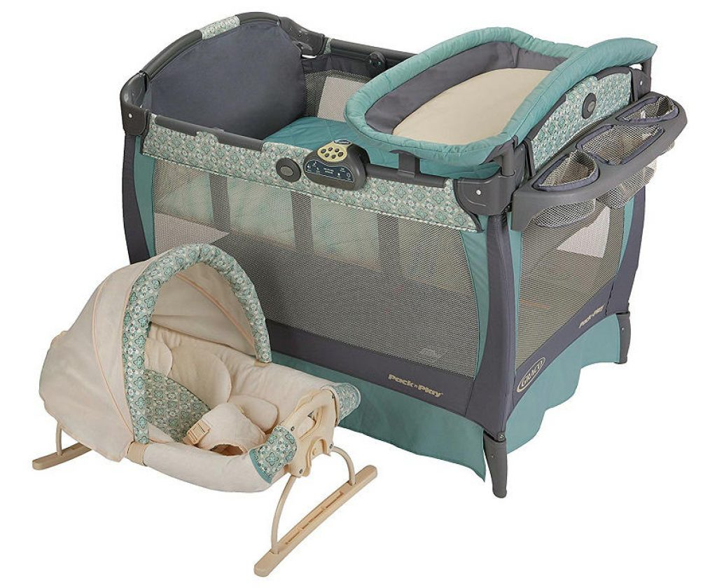 My Graco Pack n Play with Cove Rocking Seat