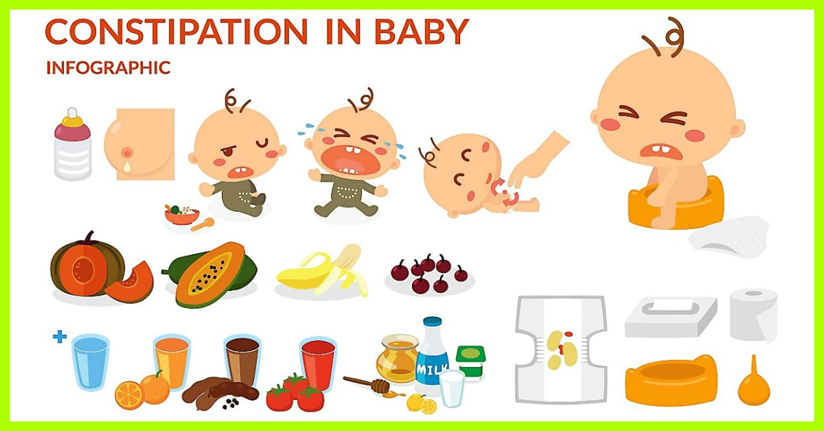 Constipation In Babies