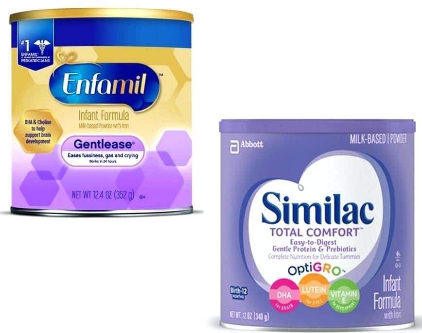 Similac vs. Enfamil