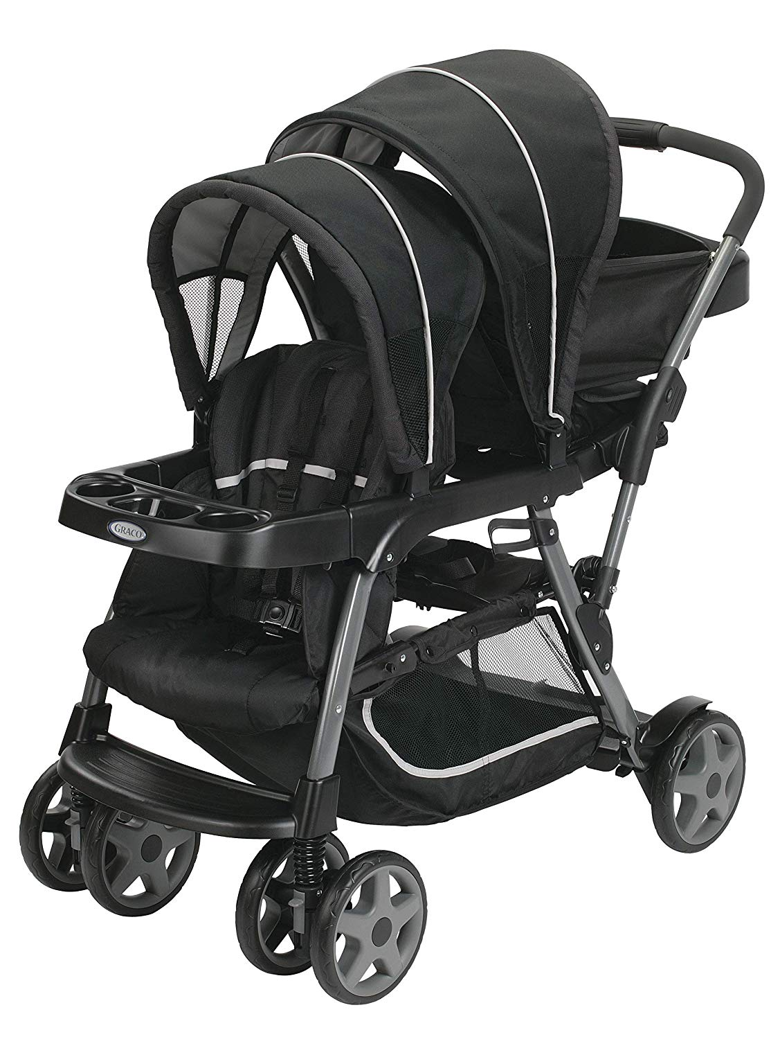 Graco Ready2Grow Click Connect Stand and Ride Stroller