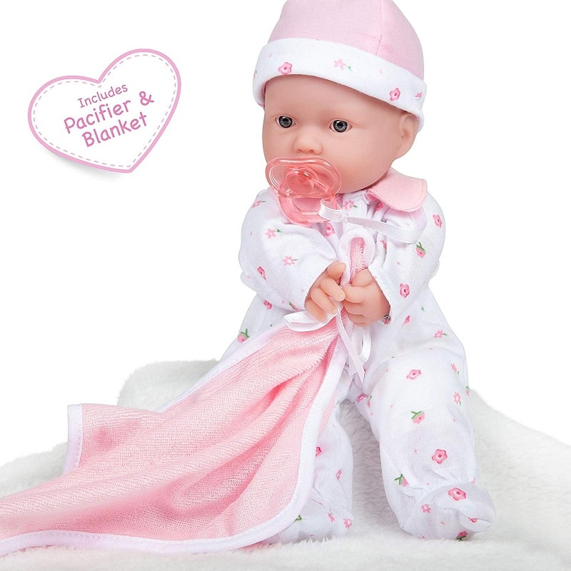 JC Toys 11-inch Washable Soft Body Doll