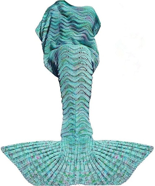 Fu Store Mermaid Tail Blanket