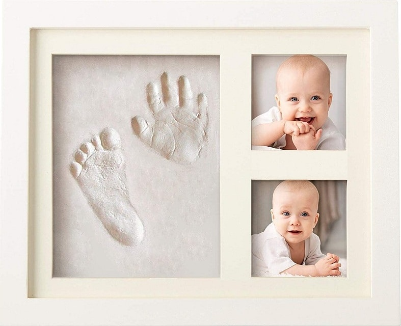 Bubzi Co Baby Handprint and Footprint Kit