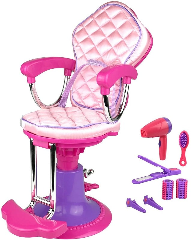 Click n' Play Doll Salon Chair and Accessories