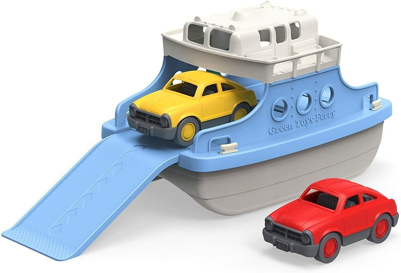 Mini cars bathtub toy