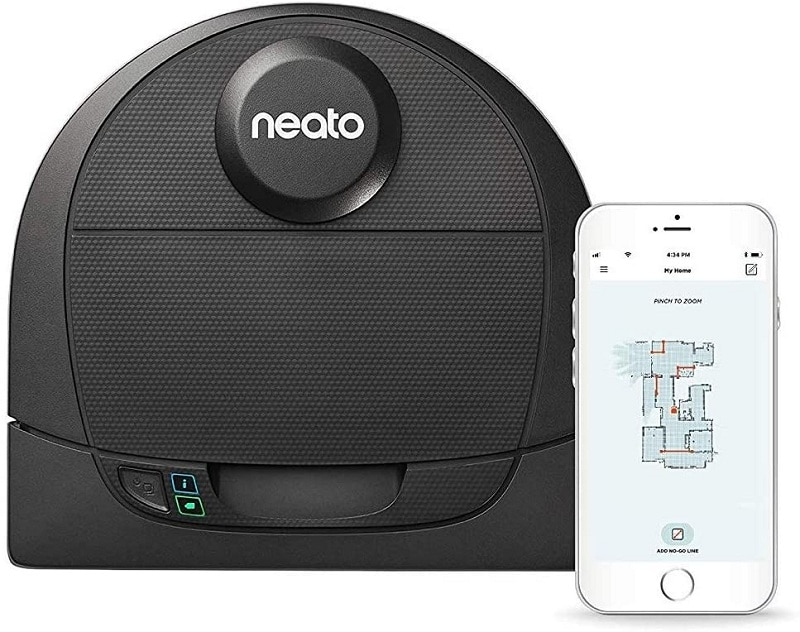 Neato Robotics D4 Laser Guided Smart Robot Vacuum