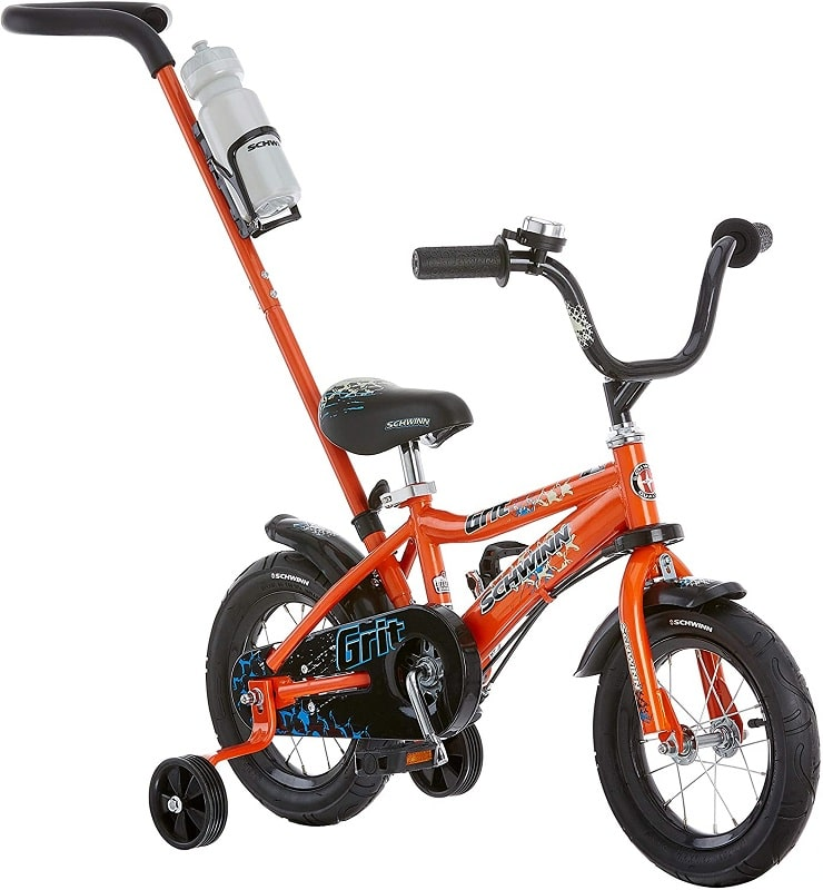 Schwinn Petunia and Grit Steerable Kids Bikes