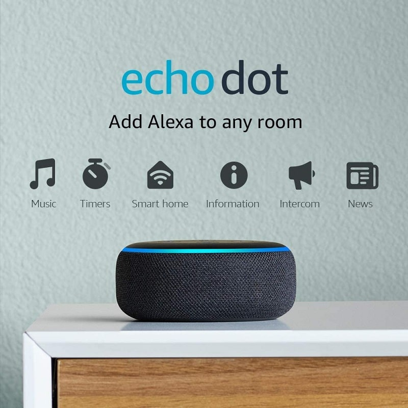 Smart speaker with Alexa