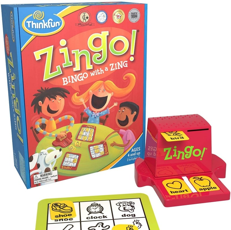 ThinkFun Zingo Bingo