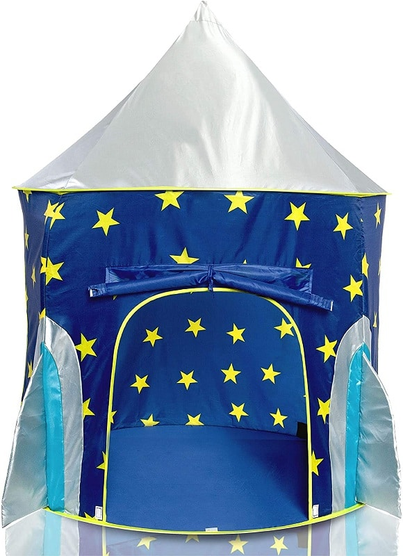 USA Toyz Rocket Ship Play Tent for Kids