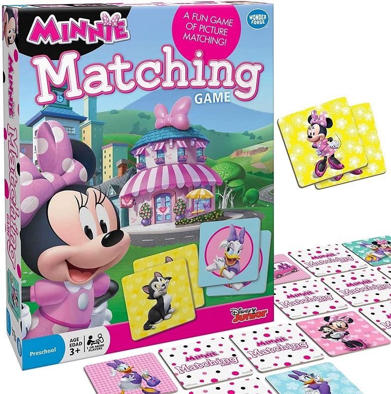 Wonder Forge Disney Junior Minnie Matching Game
