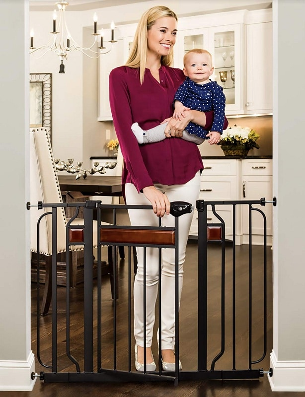 Regalo Home Accents Extra Wide Walk Thru Baby Gate