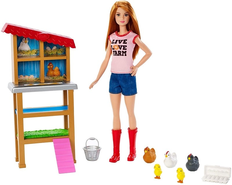 Barbie Chicken Farmer Doll