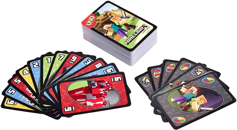 Mattel Games UNO Minecraft Card Game