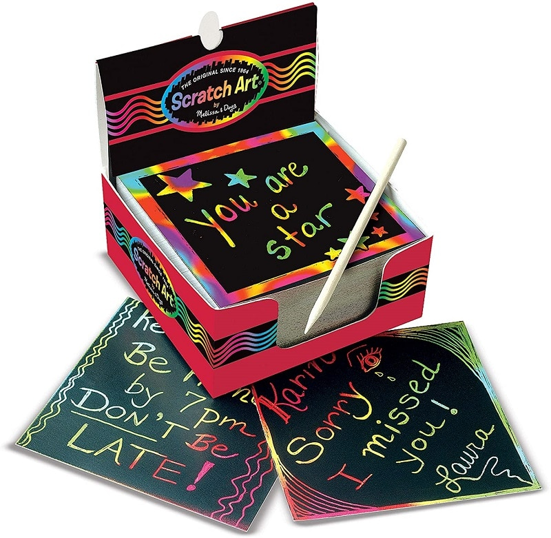 Melissa & Doug Scratch Art Box